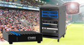 Kentima refcase Borås Arena Ethiris NVR-N Rack Solution