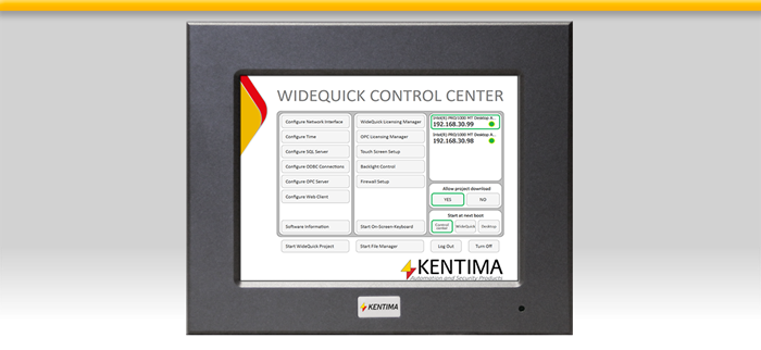 WideQuick HMI/SCADA Panel 512 612 712