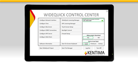 WideQuick HMI/SCADA Panel 521 621 721