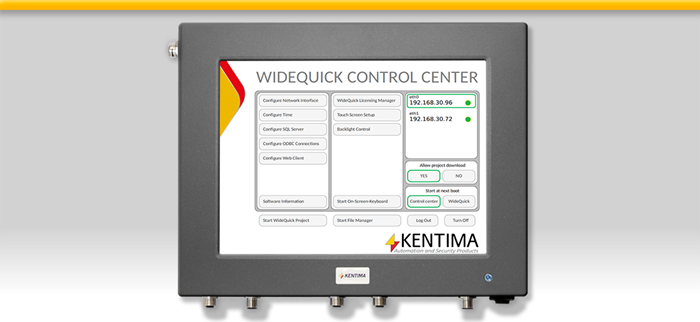 WideQuick HMI/SCADA Panel 815