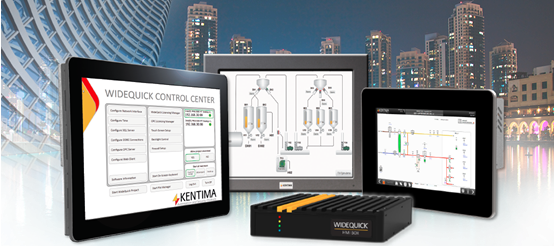 WideQuick Control Center Kentima Designer HMI SCADA